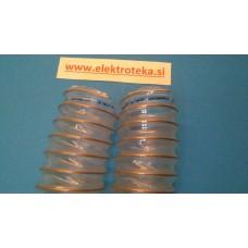 Cev za polnjenje peletov v gorilnik Fi 60  gibljiva original Centrometal dolžina 60 cm